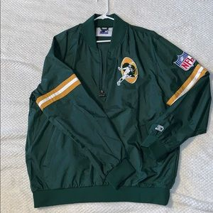 Starter Green Bay Packers Throwback 1/2 zip